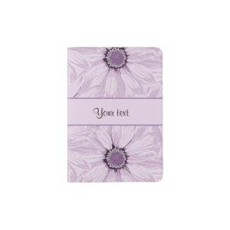 Lilac Flowers Passport Holder
