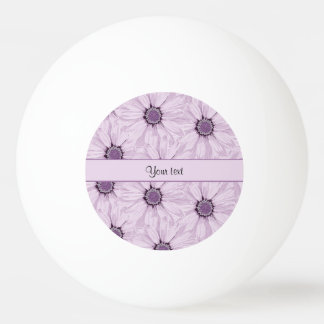 Lilac Flowers Ping Pong Ball