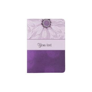 Lilac Flowers & Purple Bokeh Passport Holder