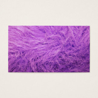 Lilac Fur Business Card