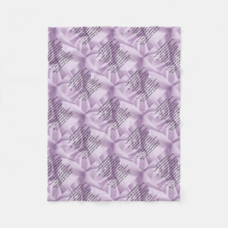 lilac   Granddaughter Poem Fleece Blanket