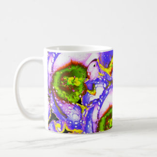 Lilac/Green Crocus Mug