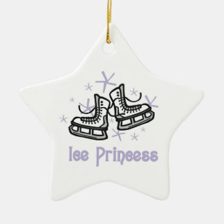 Lilac Ice Princess T shirts and Gifts Ceramic Ornament