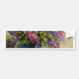 Lilac in a vase bumper sticker