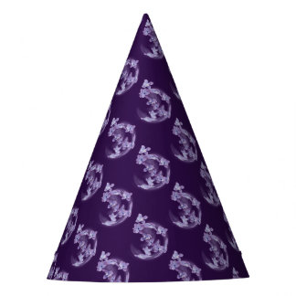 Lilac in circle party hat