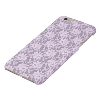 Lilac Lace iPhone 6 Plus Matte Finish Case