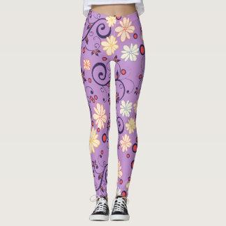 Lilac Laggings Flower of May Leggings