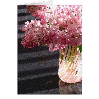 Lilac 'Maiden's Blush' Card