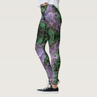 Lilac Mandala Leggings