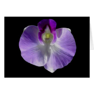 Lilac Orchid Card