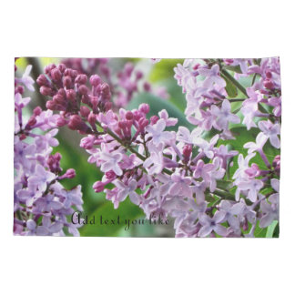 lilac pillow case