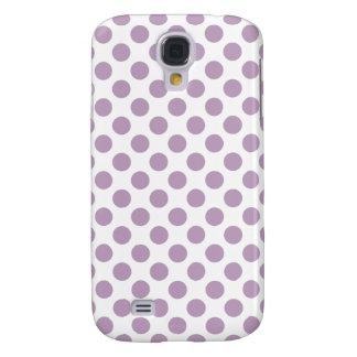 Lilac Polka Dots