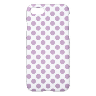 Lilac Polka Dots iPhone 8/7 Case