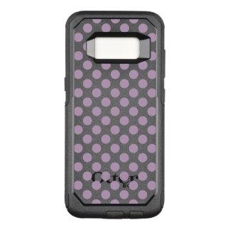 Lilac Polka Dots OtterBox Commuter Samsung Galaxy S8 Case