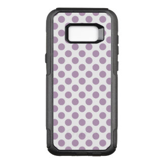 Lilac Polka Dots OtterBox Commuter Samsung Galaxy S8+ Case