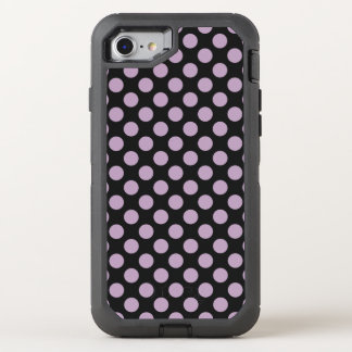 Lilac Polka Dots OtterBox Defender iPhone 8/7 Case