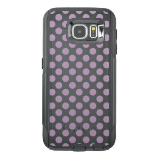 Lilac Polka Dots OtterBox Samsung Galaxy S6 Case