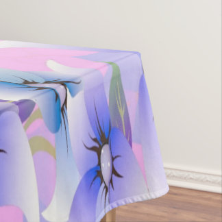 Lilac Poppies Tablecloth