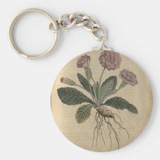 Lilac Primrose Keychain