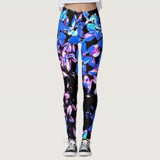 Lilac psy leggings