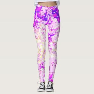 Lilac purple leggings