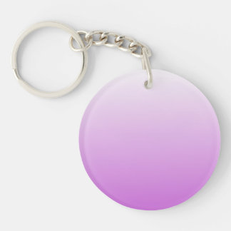 Lilac purple ombre personalized name keychain