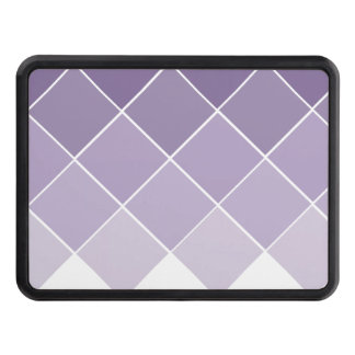 Lilac Purple Ombre Wedding Hitch Cover