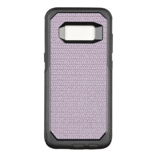 Lilac Purple Weave Mesh Look OtterBox Commuter Samsung Galaxy S8 Case