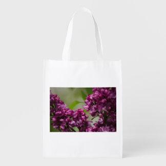 Lilac Reusable Grocery Bag
