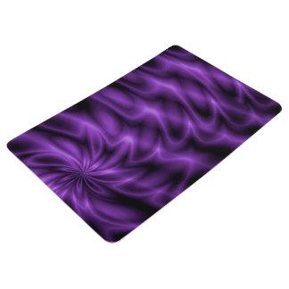 Lilac Swirl Floor Mat