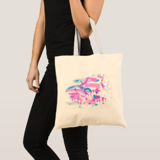 Lilac Wind Tote Bag