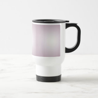 Lilac with a patch of light stainless steel travel mug