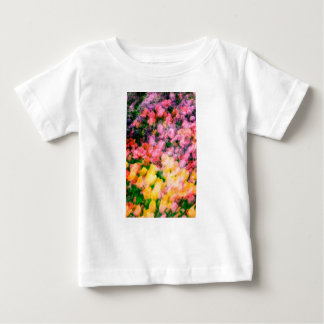 Lilacs and Tulips Baby T-Shirt