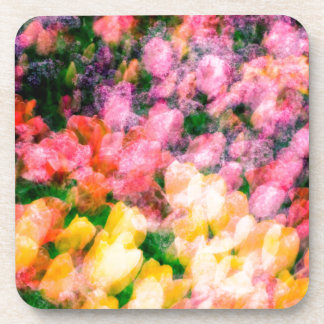 Lilacs and Tulips Coaster
