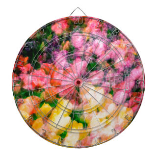 Lilacs and Tulips Dartboard