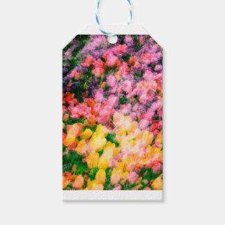 Lilacs and Tulips Gift Tags