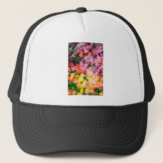 Lilacs and Tulips Trucker Hat