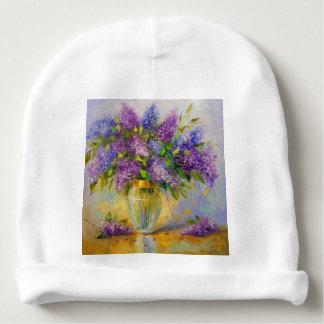Lilacs Baby Beanie