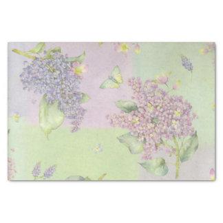 Lilacs Flowers Tissue Paper