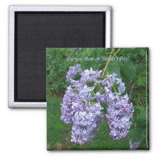 Lilacs for Mother's Day Magnet