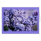 Lilacs in Bloom- Mother's Day or any occasion Card