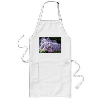 Lilacs in Full Bloom Long Apron