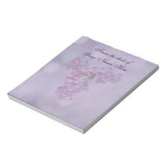 Lilacs in Springtime Notepad