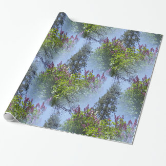 Lilacs in the sky.... wrapping paper