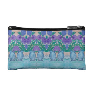 lilacs makeup bag