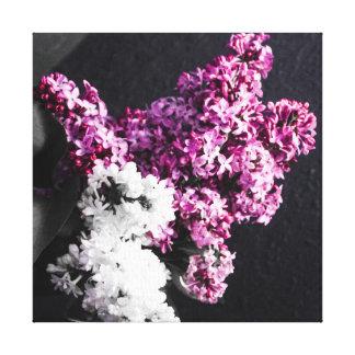 Lilacs stretch canvas