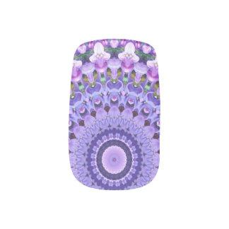 Lilas de lavande décoration nail art