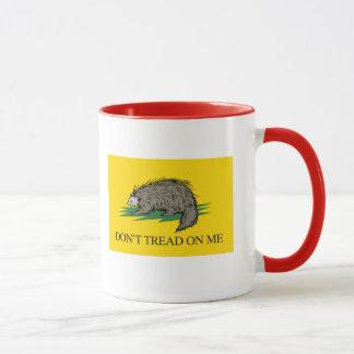 Lilbertarian - Don't Tread on Me Flag - -  Mug