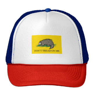 Lilbertarian - Don't Tread on Me Flag - -  Trucker Hat