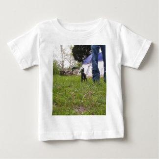 LilDog Camping Baby T-Shirt